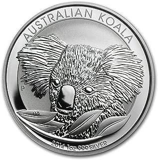 2014 AU Australia 1 oz Silver Koala BU 1 OZ Brilliant Uncirculated