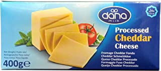 Dana Cheddar Schmelzkäse Block 400g Käse zum kochen für M