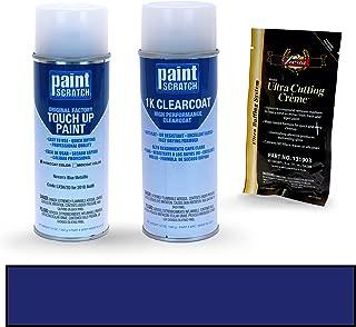 PAINTSCRATCH Navarra Blue Metallic LX5H/2D for 2018 Audi S4 - Touch Up Paint Spray Can Kit - Original Factory OEM Automotive Paint - Color Match Guaranteed
