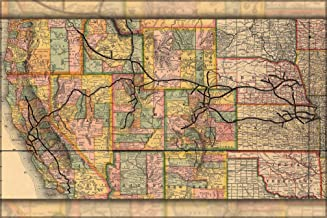 Best southern pacific railroad map Reviews