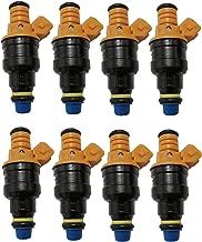8x Fuel Injectors for Ford F150 F250 F350 E150 E250 E350 E450 Mustang Expedition Excursion Crown Victoria Bronco Econoline Lincoln 4.6 5.0 5.4 5.8 V8 Connector 4 Hole Repl.OE# 0280150943