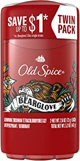 Old Spice Wild Collection Inventible Solid Antiperspirant and Deodorant، Bearglove، 2 Count