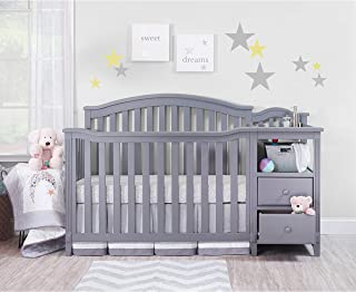 Sorelle Berkley Crib & Chnager, Gray