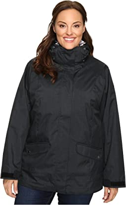 Plus Size Sleet to Street Interchange Jacket