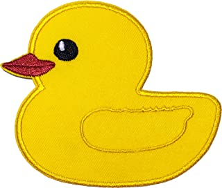 Papapatch Cute Duck Duckling Poultry Applique Embroidered Sew on Iron on Patch - Yellow (Iron-Duck-YL)