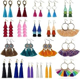 Best long fringe earrings Reviews