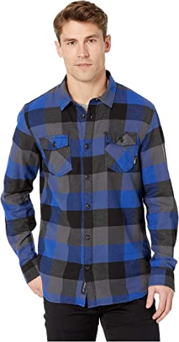 504dba75f56e2b Vans banfield flannel shirt dress blues port