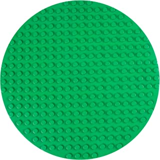 """Strictly Briks Classic Big Briks Circle Baseplate 100% Compatible with All Major Brands 