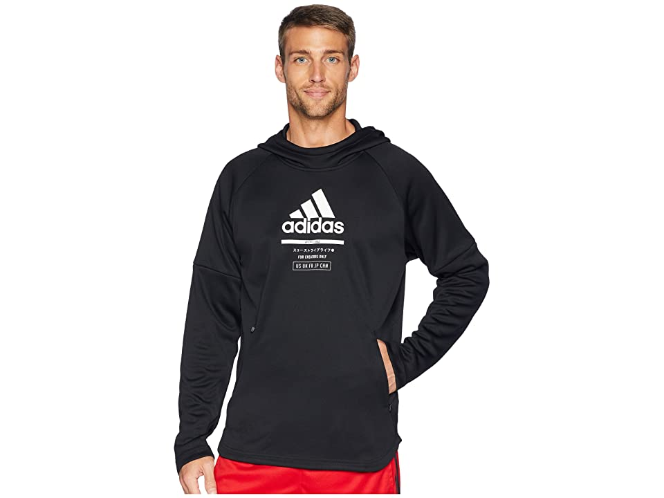 adidas Team Issue Lite Hoodie (Black/Black) Men