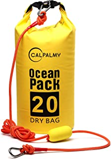 2-in-1 Sand Anchor for Small Boats, Power Watercrafts, Canoes and Kayaks | Waterproof Dry Bag for Hiking, Camping, Water Sports, Kayaking, Boating, Surfing and Tubing