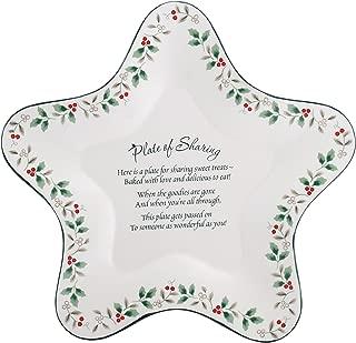 Pfaltzgraff Winterberry Star-Shaped Sharing Plate