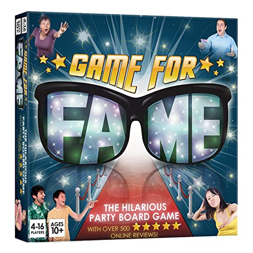 1d1cf16c35 Game For Fame the hilarious party board game