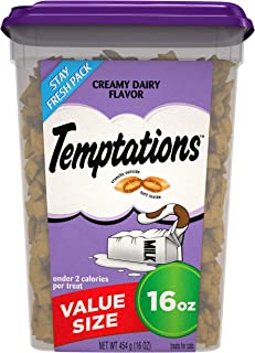 TEMPTATIONS Classic Crunchy and Soft Cat Treats, 16 oz.