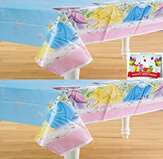Disney Princess Fairy-Tale Friends Table Cover Pack of 2
