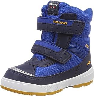 Viking 中性儿童 Play II R GTX 户外健身鞋,蓝色(反光/蓝 2735),32 EU
