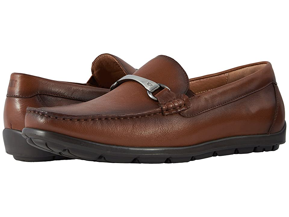 Florsheim Draft Moc Toe Bit Driver (Cognac Smooth) Men