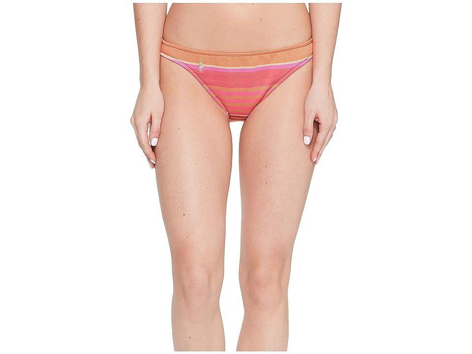 Polo Ralph Lauren Playa Stripe Taylor Hipster Bottom (Coral) Women