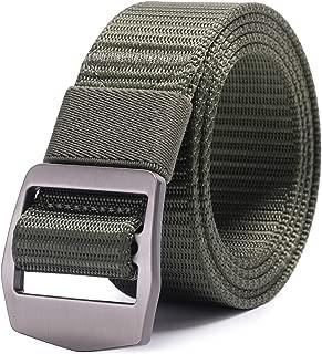 AXBXCX Non-slip Tactical Belt Outdoor Military Nylon Webbing 1.5