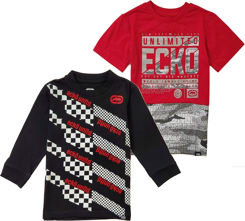 Marc Ecko Boys' Fashion T-Shirt Pack