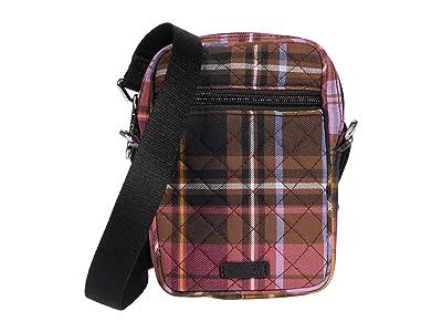 Vera Bradley RFID Convertible Small Crossbody (Cozy Plaid) Handbags