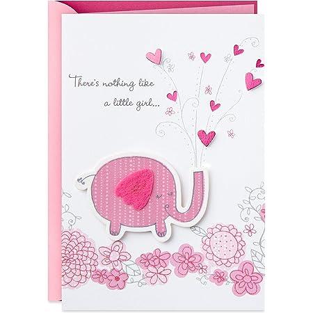 Congratulations new baby girl congratulations card CBA9970 card for baby girl card for new baby girl giraffe Card new Baby girl