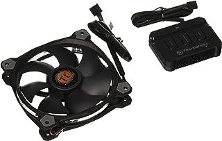 Thermaltake Riing 12 RGB LED - Ventilador de 120 mm, Color Negro