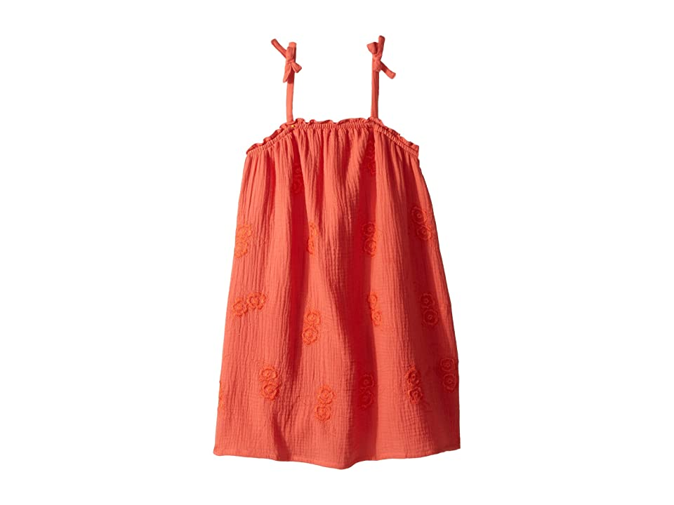Lucky Brand Kids Ella Dress (Big Kids) (Persimmon) Girl