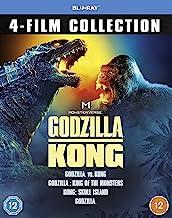 Monsterverse Godzilla/Kong 4-Movie Collection [Blu-ray]