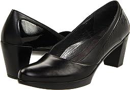 Black Madras Leather/Black Raven Leather/Black Crinkle Patent Le