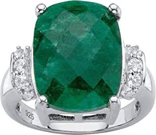 Best emerald and silver ring Reviews