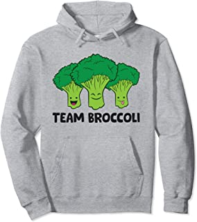 Sponsored Ad - Team Broccoli Vegan Vegetarian Broccoli Pullover Hoodie