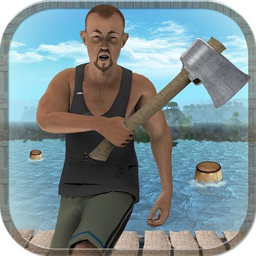 Real Raft Survival Simulator