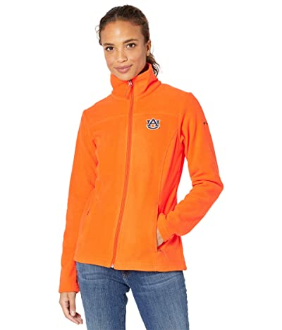 Columbia College Auburn Tigers Give and Gotm II Full Zip Fleece Jacket (Spark Orange) Women