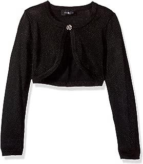 Amy Byer Girls' Long Sleeve Shrug Cardigan