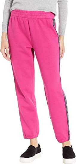 Fleece Juicy Tape Track Pants