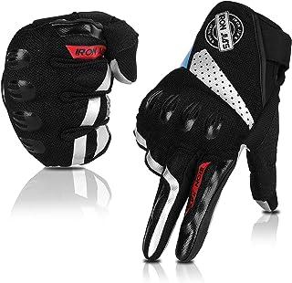 Summer Motorcycle Gloves Breathable Motorbike Gloves Full...