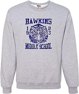 Go All Out Adult Hawkins Middle School 1983 Sweatshirt Crewneck