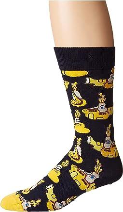 Beatles Yellow Submarine Sock