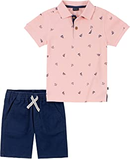 NAUTICA Sets (KHQ) Boys' 2 Pieces Polo Shorts Set