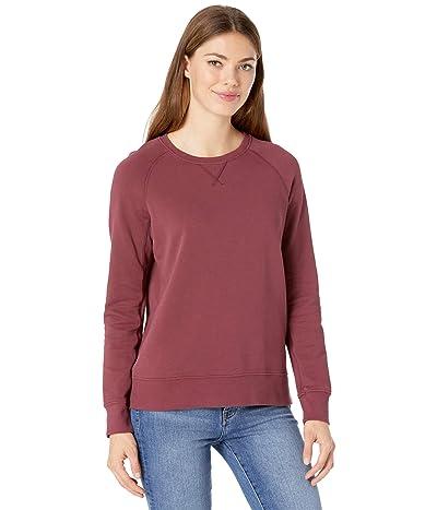 PACT Organic Cotton Essential Sweatshirt (Cabernet) Women
