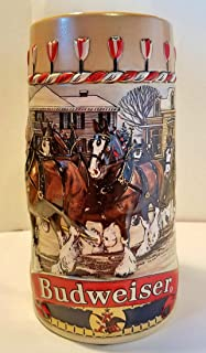 Budweiser Holiday Steins Collectible Holiday Stein Series (Year 1986)