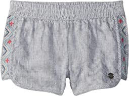 Roxy Kids - Wealthy and Wise Shorts (Toddler/Little Kids/Big Kids)