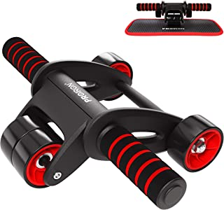 PROIRON AB Roller AB Wheel con Alfombrilla Súper Cómoda, Portátil y Estable