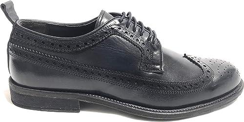Drudd - zapatos de Cordones de Cuero para Hombre azul Turquesa
