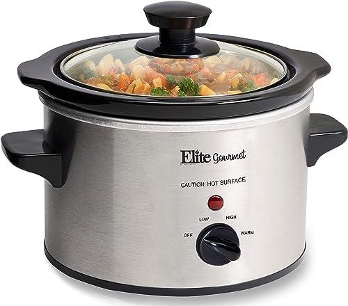 Maximatic MST-250XS Elite Gourmet Slow Cooker (1-1/2-Quart)