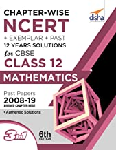 Chapter-wise NCERT + Exemplar + Past 12 Years Solutions for CBSE Class 12 Mathematics 6th Edition
