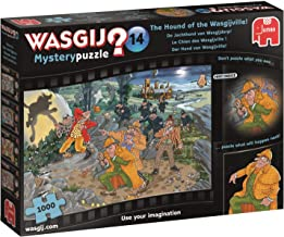Jumbo 19158 Wasgij Mystery 14-Hound of The Wasgijville 1000 Piece Jigsaw Puzzle