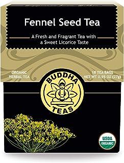 Buddha Teas Organic Fennel Seed Tea 18 Tea Bags