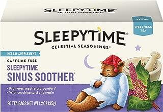 Celestial Seasonings Wellness Tea, Sleepytime Sinus Soother, 20 Count Box