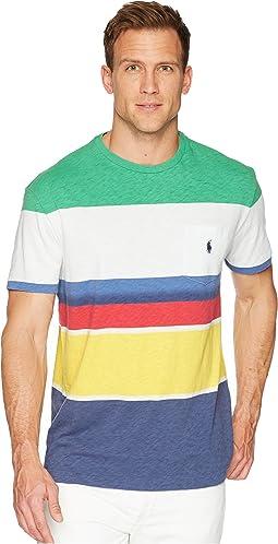 Polo Ralph Lauren Yarn-Dye Slub Jersey Short Sleeve T-Shirt